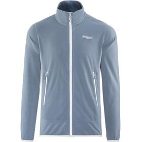 Bergans M's Lovund Fleece Jacket Fogblue/Aluminium